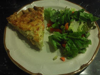 Fake Crab Salad Quiche – From Disaster To Delicious