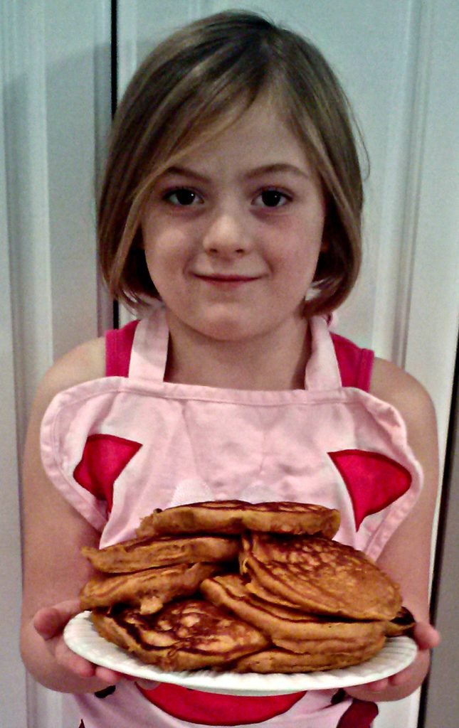 Delaney's Pumpkin Oatmeal Pancakes – With  A Splash Of Apple Cider