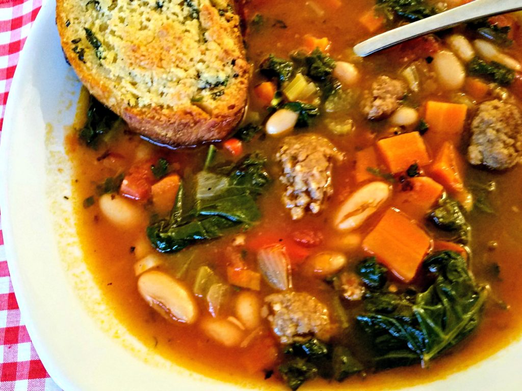 Soup 101 And Meemaw's Italian Sausage Veggie Soup