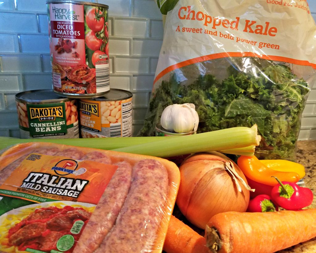 Italian Sausage Kale Soup | Meemaw Eats