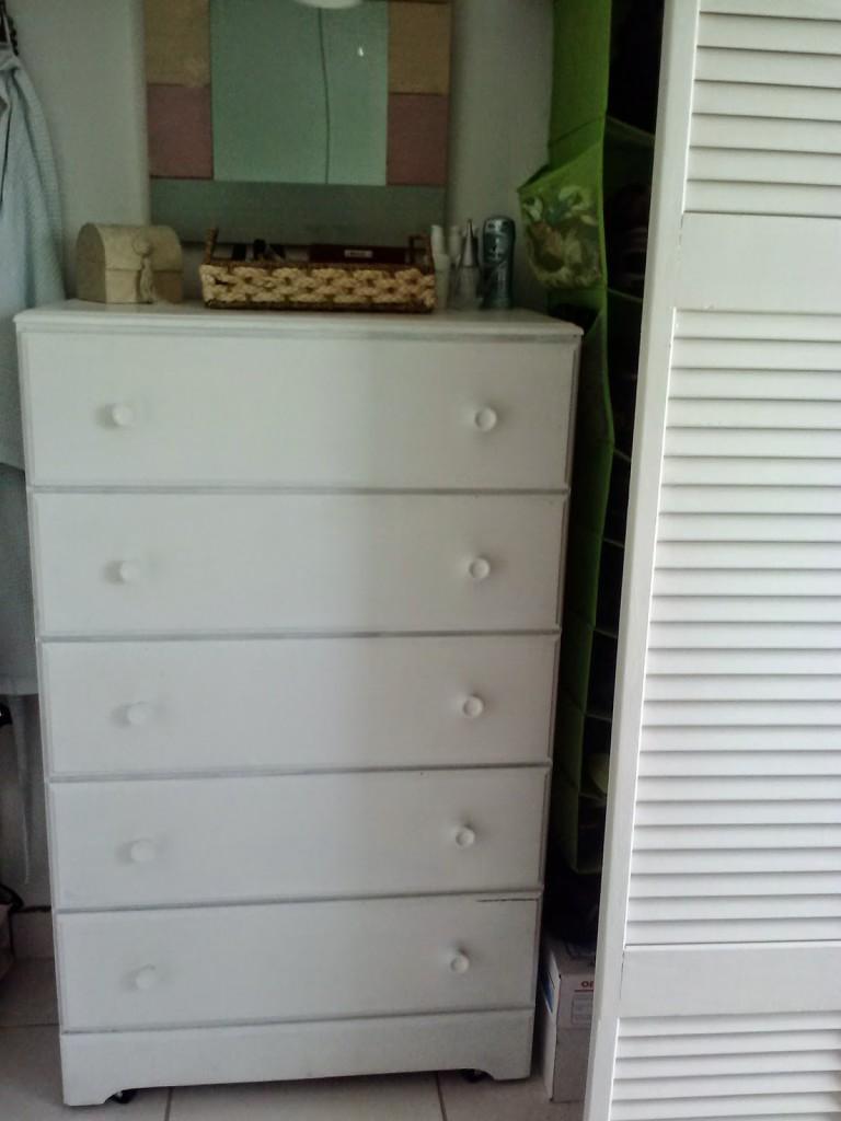 DIY Rolling Dresser