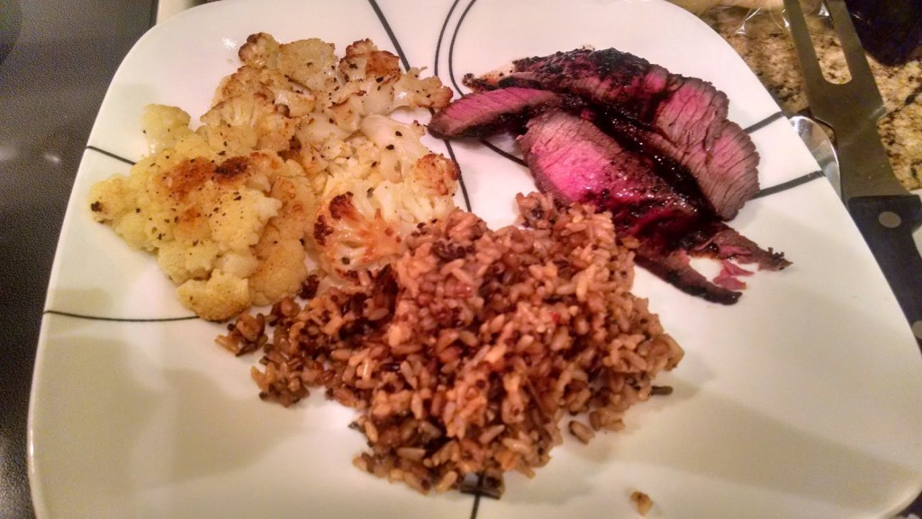 Red Wine Marinated Grilled London Broil