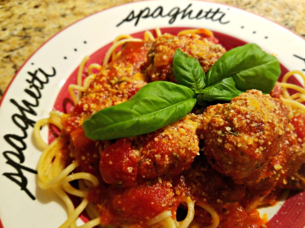 "Meemaw's Meatballs…""Mangia Tutti!"" (Everybody Eat!)"