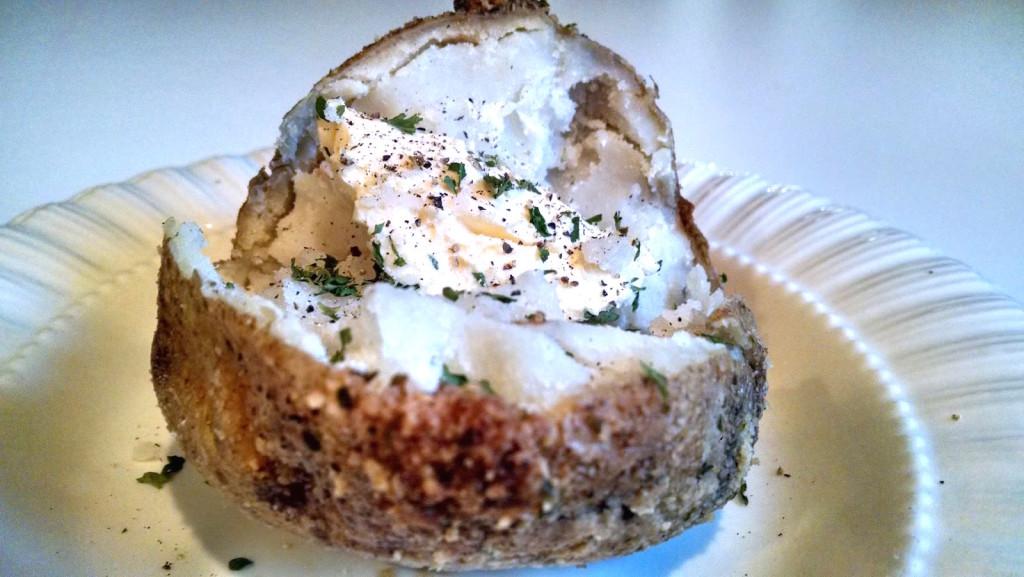 Garlic and Parmesan Baked Potatoes