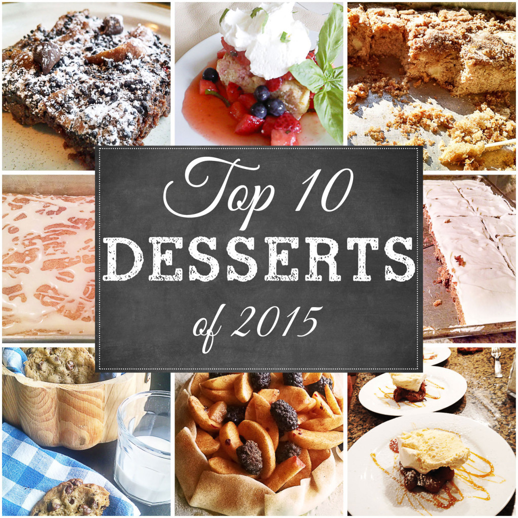 Top 10 Desserts of 2015