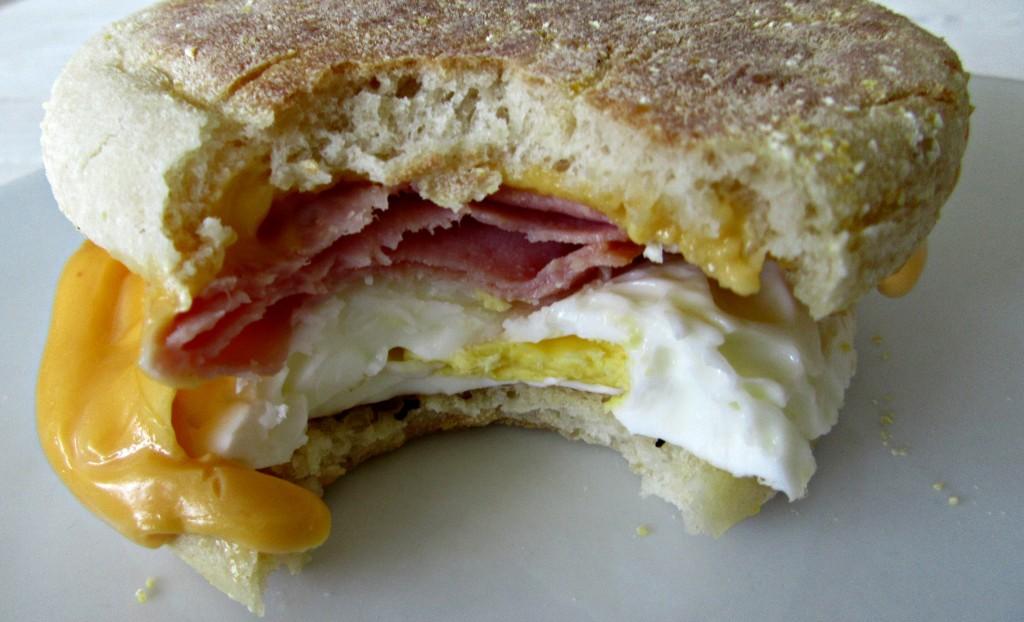 TWO MINUTE Breakfast Sandwich
