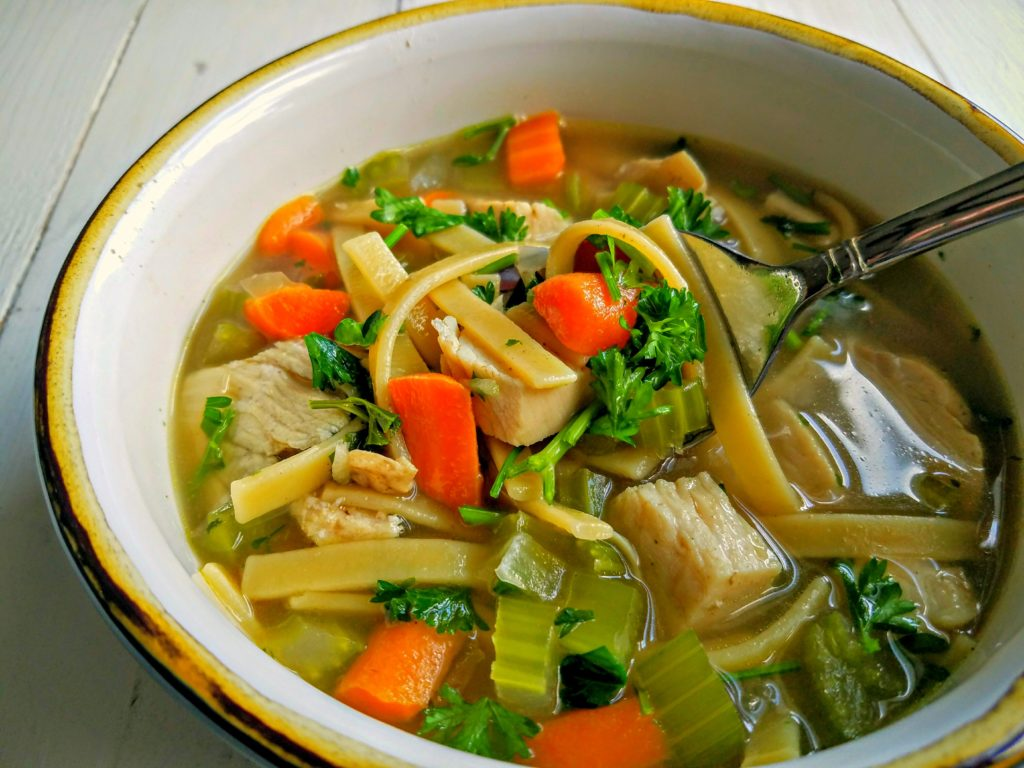 Down-home Chicken Noodle Soup
