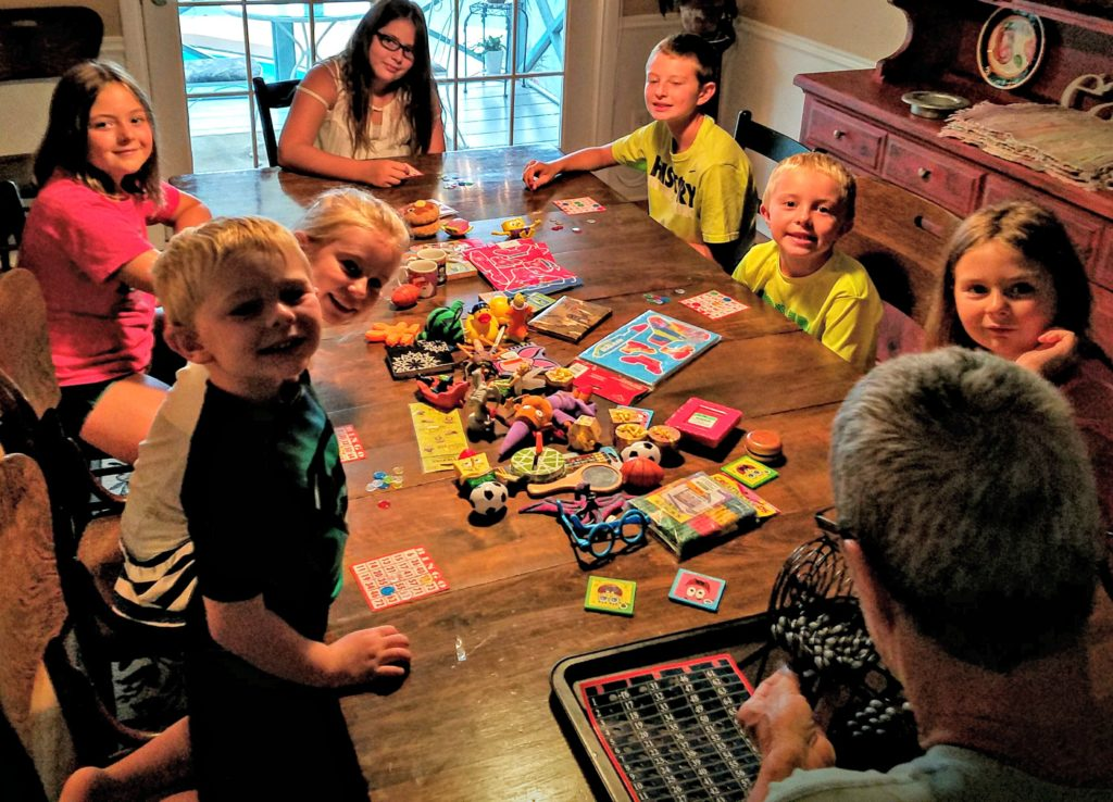Cousins Galore…And BINGO! (A Winning Combination)