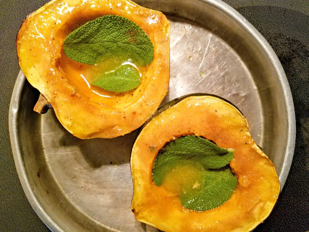 Acorn Squash…Roasted…With A Twist!
