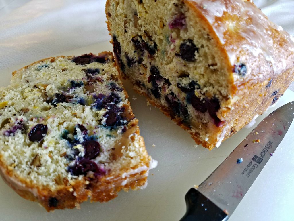 Blueberry Lemon Walnut Bread…Yes Please!