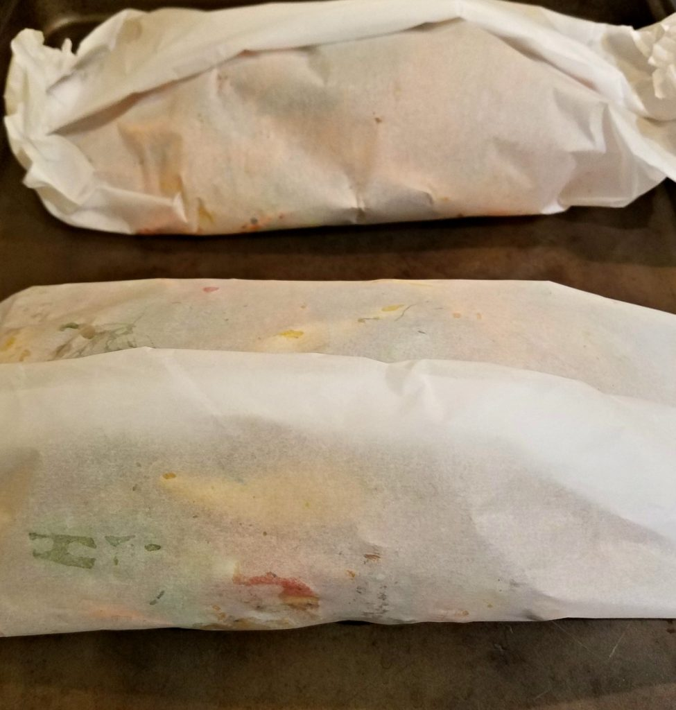 Chicken And Vegetables In Parchment | Meemaw Eats