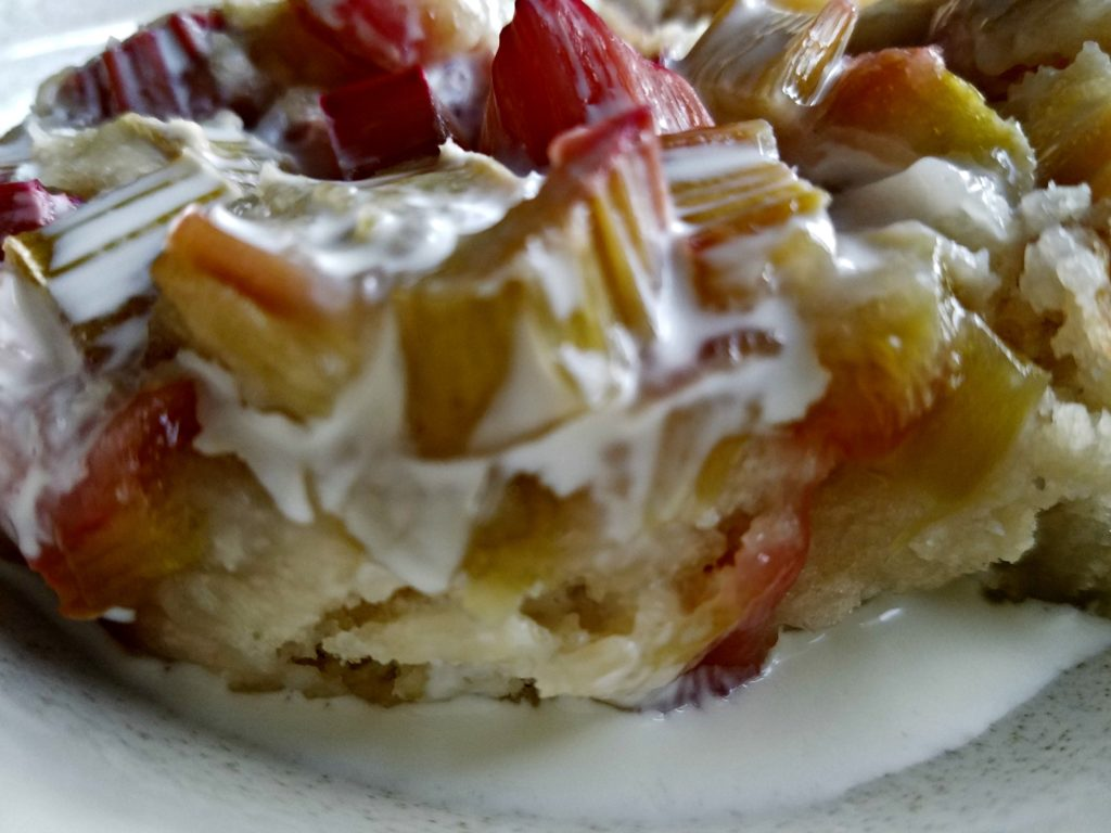 Rhubarb Cobbler…Another Hug From Mom's Recipe Box
