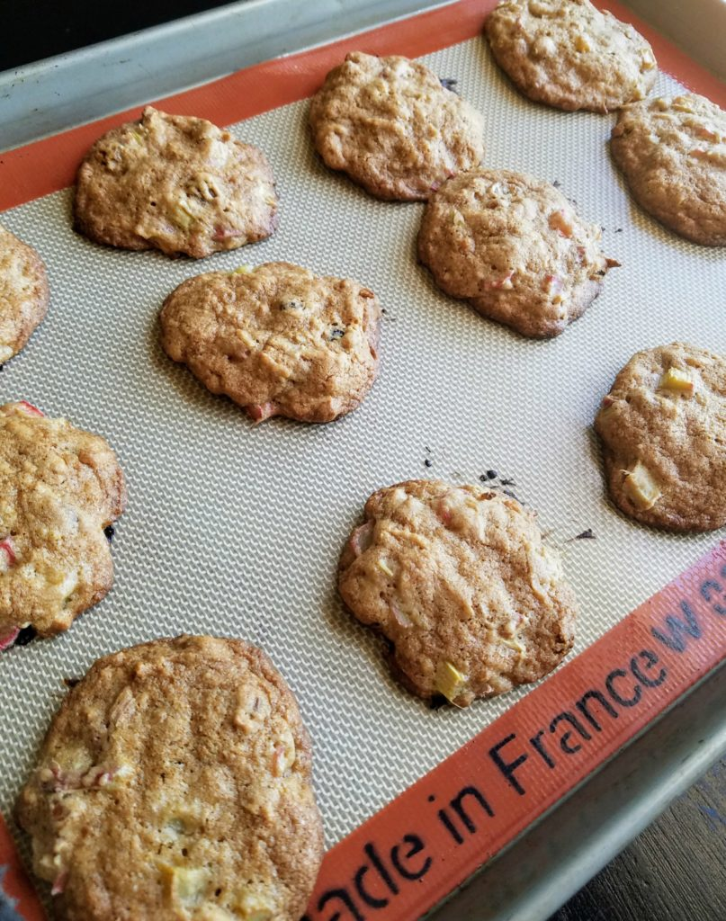 Rhubarb Cookies | Meemaw Eats