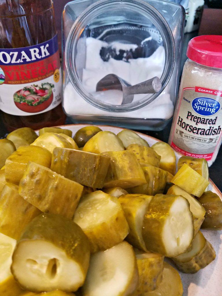 Horseradish Pickles | Meemaw Eats