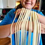 Homemade Pasta From Scratch | Meemaw Eats