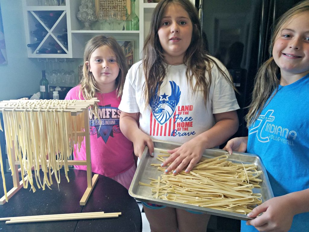 Making Homemade Pasta From Scratch – It's Child's Play!