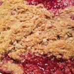 Spiced Cherry Pear Cobbler | Meemaw Eats