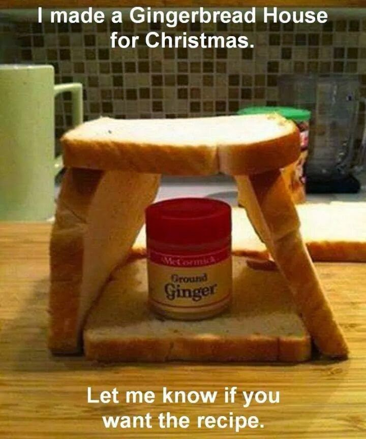 A Quick and Easy Gingerbread House…Just In Time For The Holidays