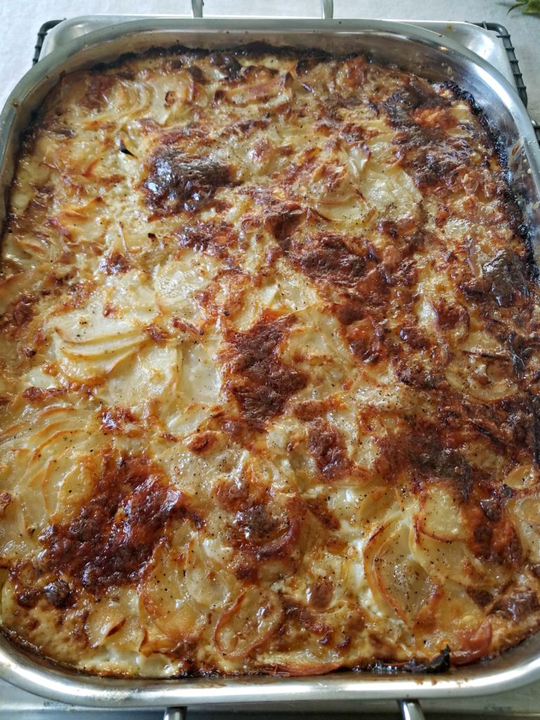 Potato-Fennel Gratin | Meemaw Eats