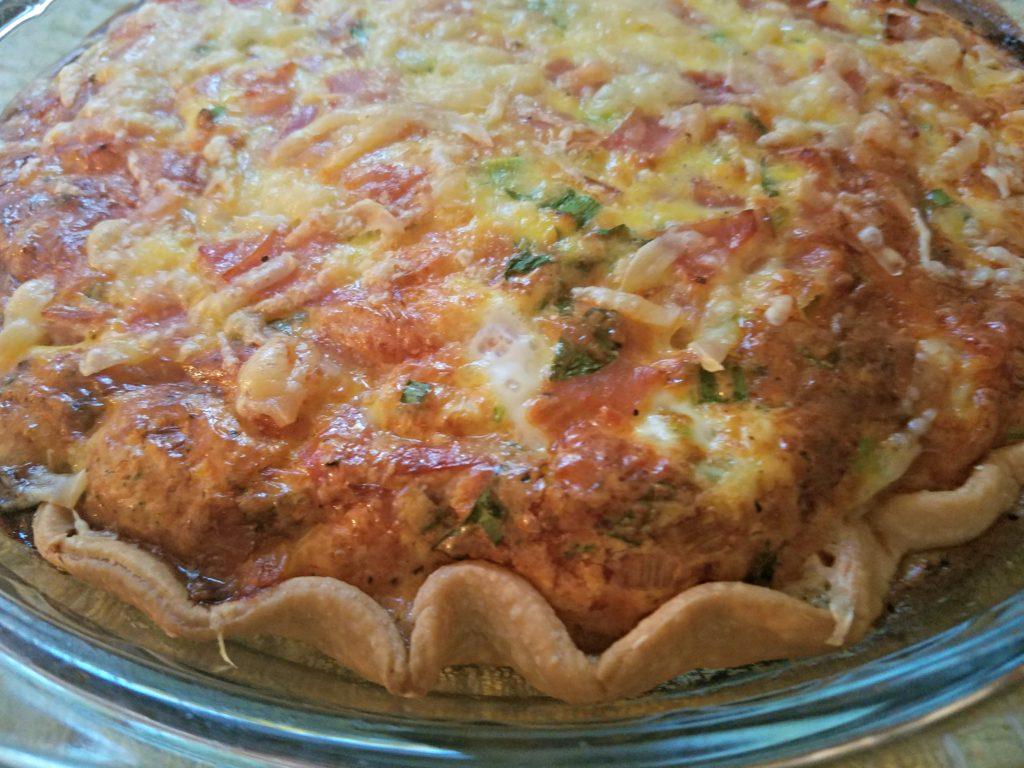 Carla Halls Ham And Gruyere Quiche | Meemaw Eats