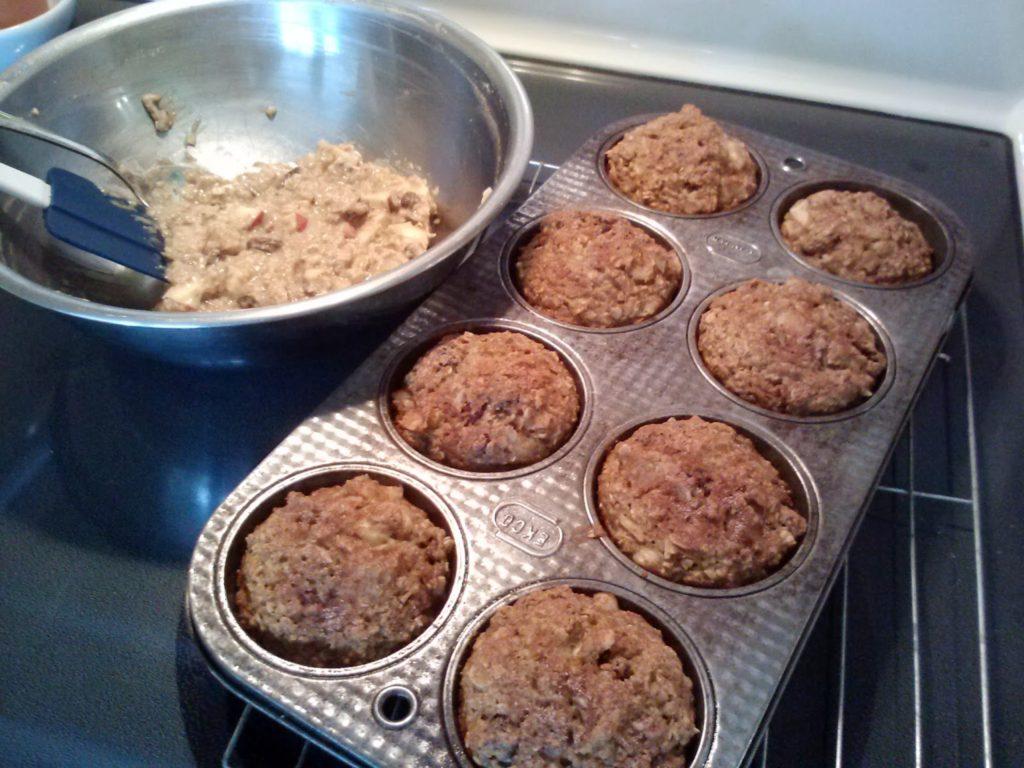 """Meemaw's HEALTHY """"Kitchen Sink"""" Muffins"""
